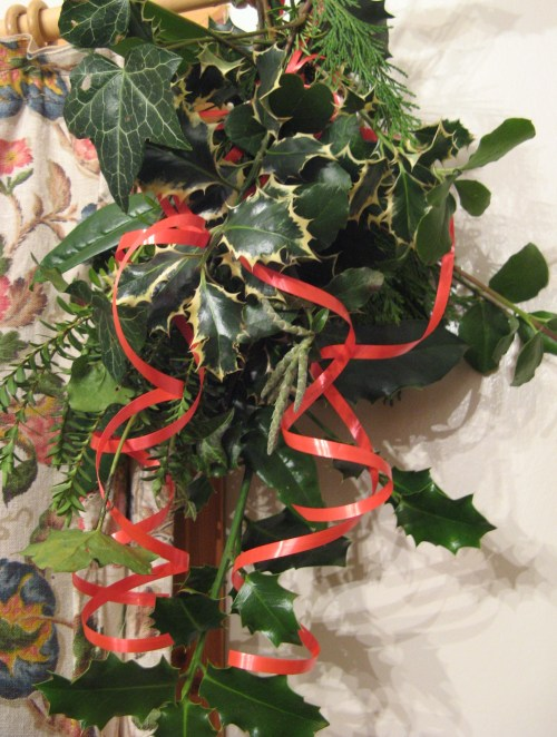 Christmas greenery 1