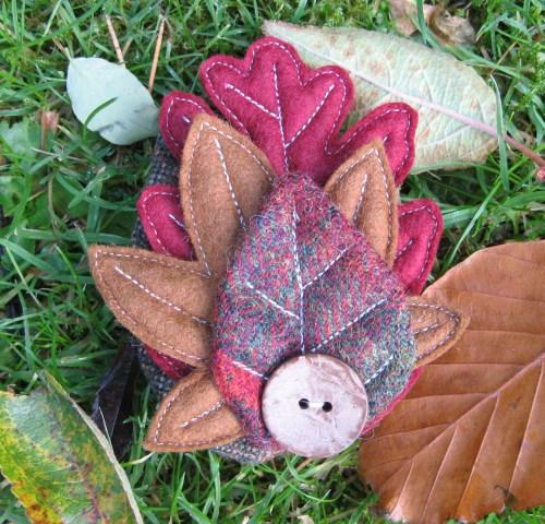 leaf corsage 1