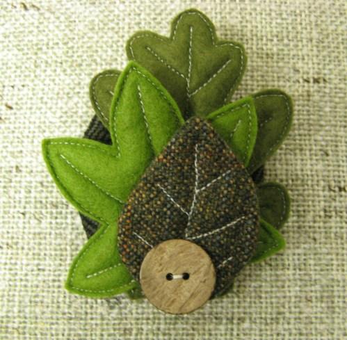 leaf corsage 3