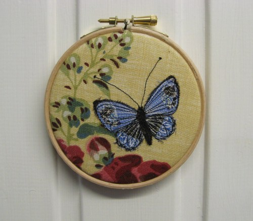 blue butterfly emb hoop picture 1