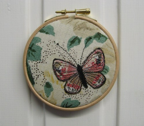 pink butterfly emb hoop picture 1