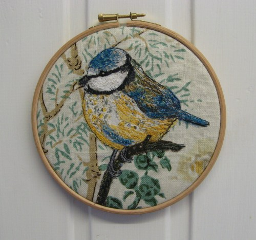 bluetit embroidery 007