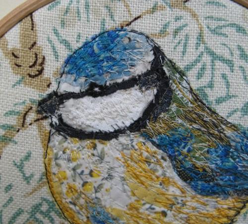 bluetit embroidery 011