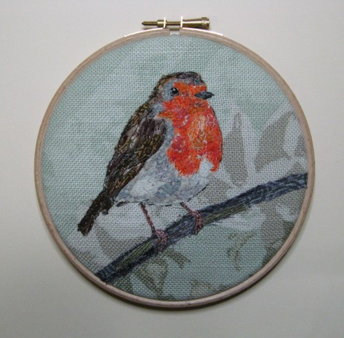 five 4 inch robin hoops 040