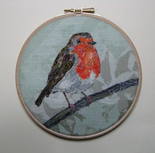 five 4 inch robin hoops 040