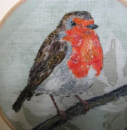 five 4 inch robin hoops 044