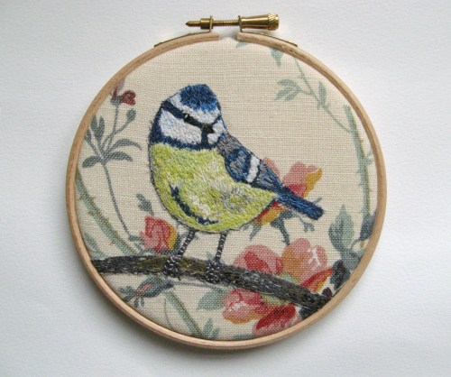 five inch bluetit hoop 123
