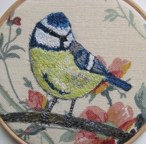 five inch bluetit hoop 130