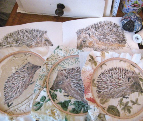 hedgehogs WIP 005